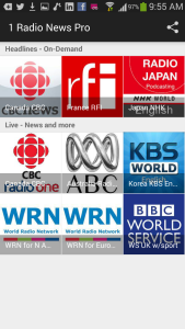 1 Radio News Phone Screen