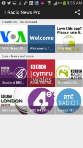 1 Radio News Phone Screen Shot