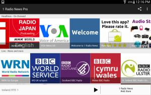 1 Radio News App